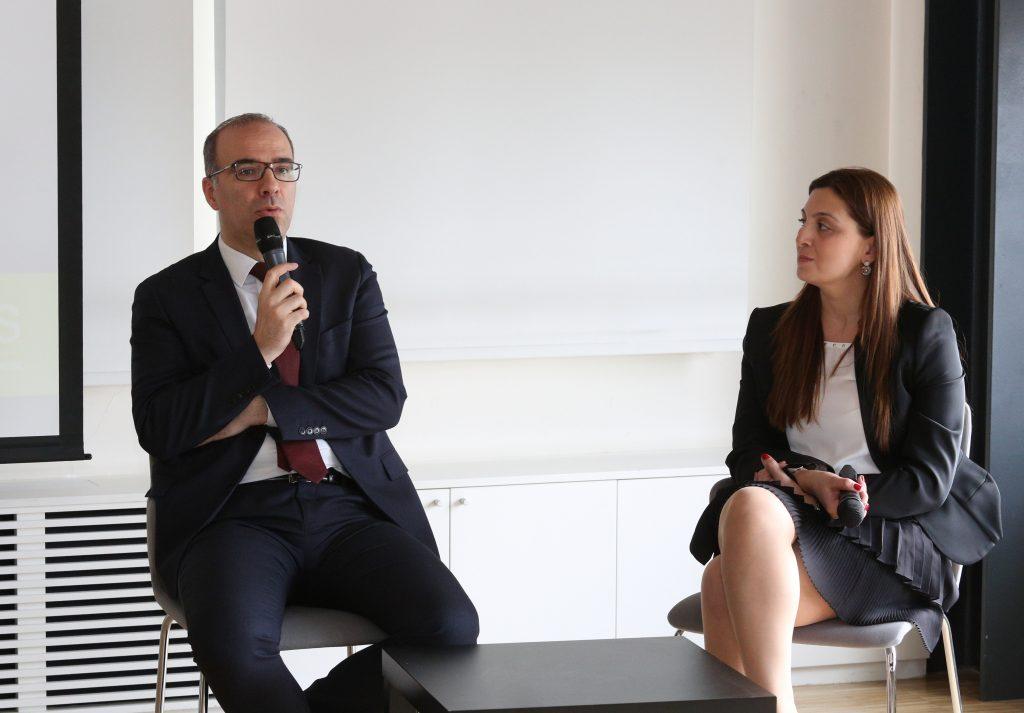 CarrefourSA CRM & Pazarlama Direktörü Mehmet Necati Özdeniz & Nurcan Bıçakcı Arcan