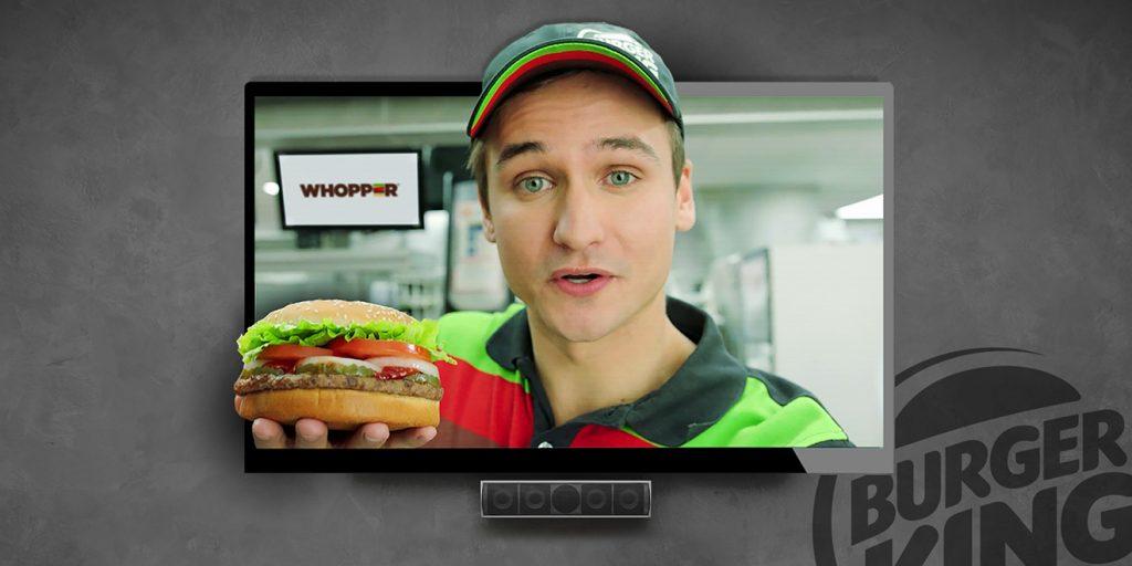 Google Home of The Whopper yılın en başarılı interaktif kampanyalarından...