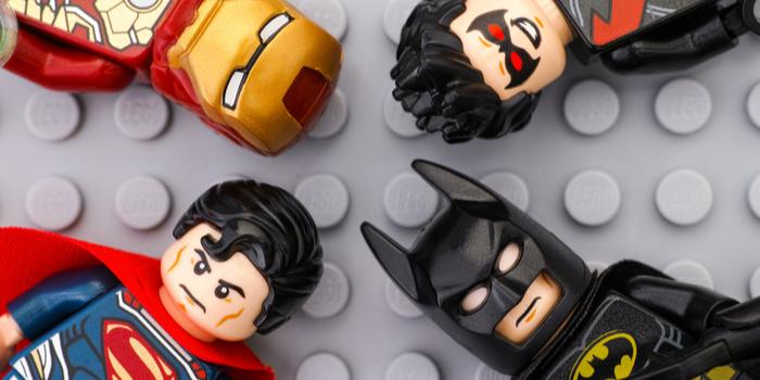 Lego dc marvel