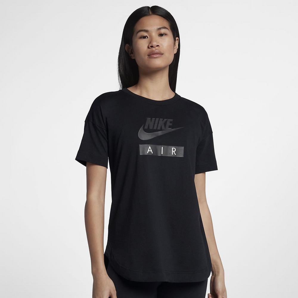 Nike Air - Bayan Ti rt - Siyah Siyah 3859_ZOOM
