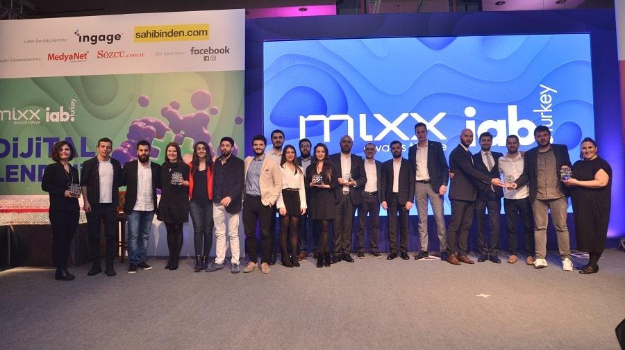 Dijitalin en iyileri MIXX Awards'da ödüllerine kavuştu