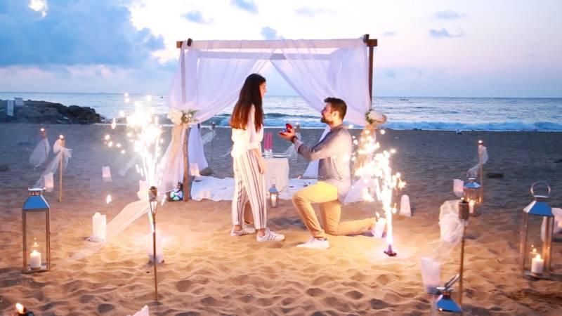 Türkiye'de en çok evlilik teklifi tekne ve yatta...