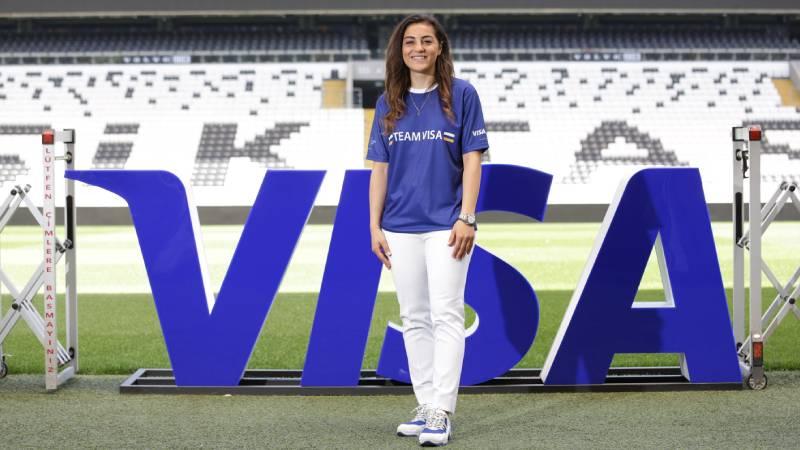Visa Kadın A Milli Takım Kaptanı Didem Karagenç'e...