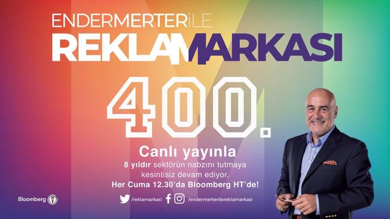 Ender Merter ile Reklamarkası 400. programı ile...