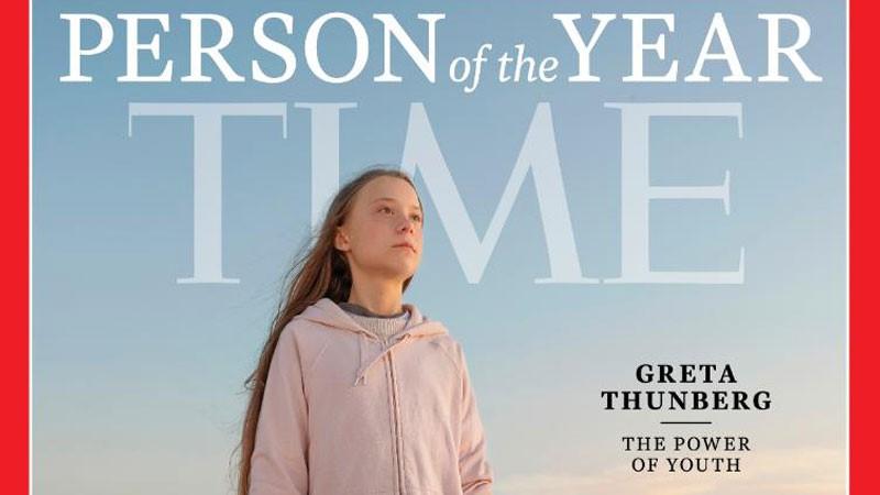 TIME, İsveçli iklim aktivisti Greta Thunberg'i yılın...