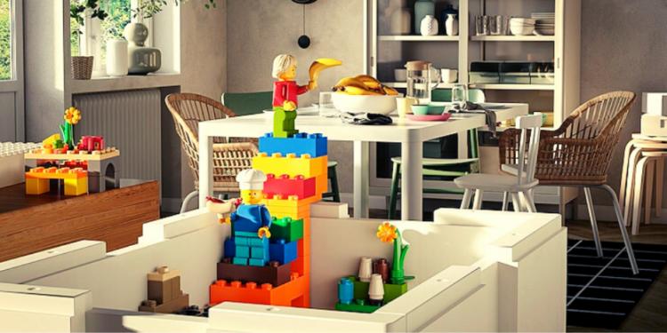 Lego, dağınıklığının çaresini IKEA'da buldu